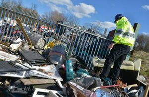 The Environment Agency has been given new powers to tackle illegal waste