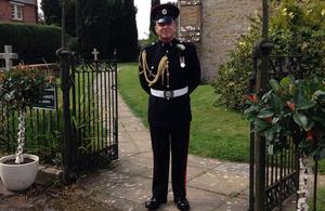 Lance Corporal George Partridge.