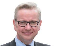 The Environment Secretary, Michael Gove