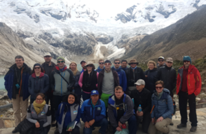 The visit took place in the context of the Newton-Paulet Fund in science and innovation and underscored the importance of Peruvian glaciers to the international scientific community.