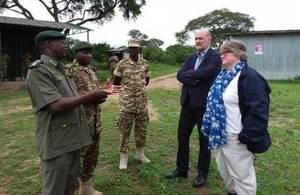 Thérèse Coffey visits Uganda