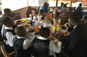 Commonwealth Big Lunch in Kribi