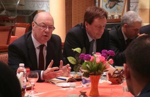 Minister Alistair Burt visits Libya