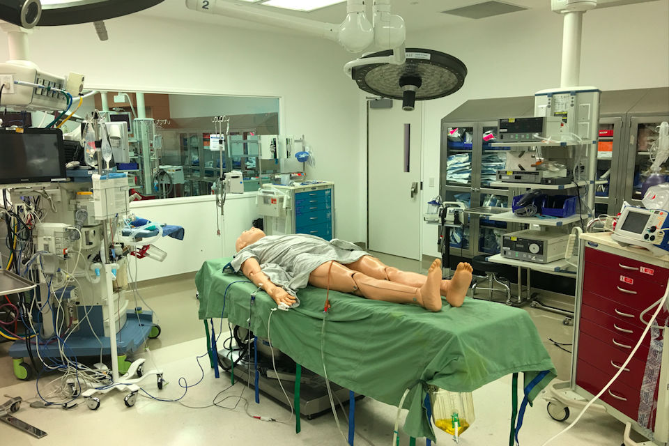 CedarsSinai Simulation Center for Advanced Clinical Skills.
