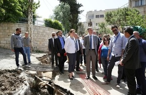 Ambassador Shorter tours UK funded projects in Chouf