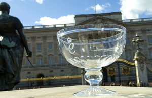 Queen's Award for Enterprise crystal bowl (credit: Geraint Lewis)