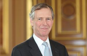 Mr Jamie Bowden CMG OBE MVO