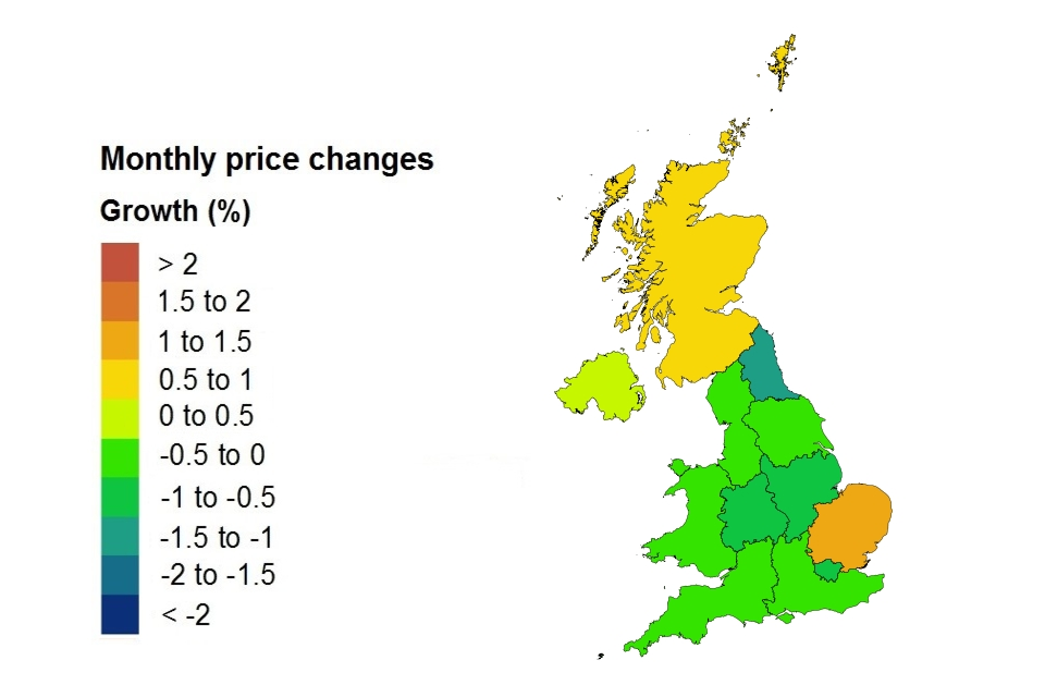 Uk House Price Index Summary March 2018 Govuk