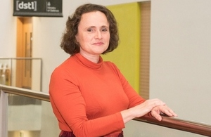 Penny Endersby, Dstl's Cyber and Information Systems Division Head and WISE Executive Sponsor