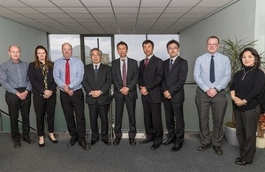 Representatives from the Japan Atomic Energy Authority (JAEA) visited Dounreay and Sellafield