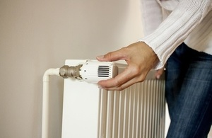 Raising heat from radiator