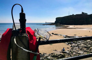 Bathing water quality testing