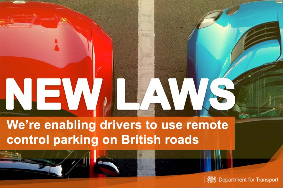 From June 2018 drivers will be able to use remote control parking on British roads.    New laws introduced yesterday (16 May 2018) will mean that from next month drivers will be able to use remote control parking on British roads.        Changes to the Highway Code and relevant regulations were...
