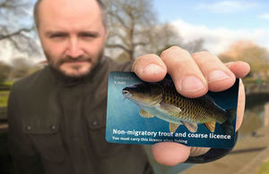 Take care when buying your fishing licence online gov uk for Free fishing license for veterans