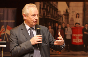 Cabinet Minister Francis Maude