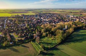 Aerial View of UK Credit-Shutterstock