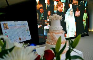 Royal Wedding on board the Queen Elizabeth 2 in Dubai