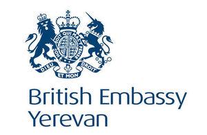 British Embassy Yerevan logo