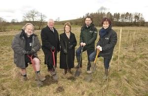 Natural flood management pilot launch in Gargrave