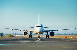 An airplane taxiing to the runway. Via Jaromir Chalabala Shutterstock