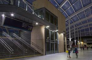 Manchester Victoria rail station.