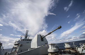 £850m Sea Ceptor missile system enters service with Royal Navy. Crown copyright.