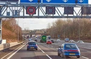 image of M60 smart motorway