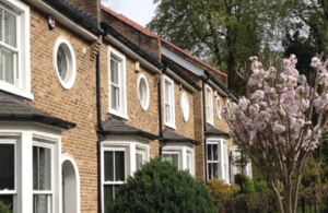 Row of pretty terraced houses. Image credit: Stephanie Hill