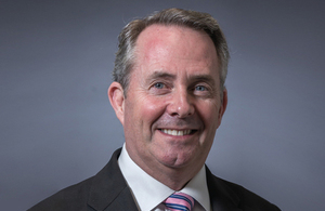Liam Fox MP Secretary of State for International Trade and President of the Board of Trade