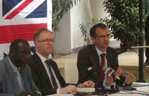Ivan Rogers' visited Dakar to showcase British Prime Minister's agenda for Africa