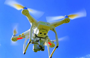 New drone laws bring added protection for passengers - GOV UK