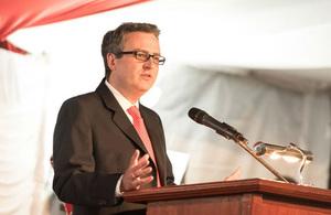 Nic Hailey, British High Commissioner to Kenya