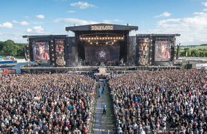 Image of download festival - taken by Paulo Gonçalves