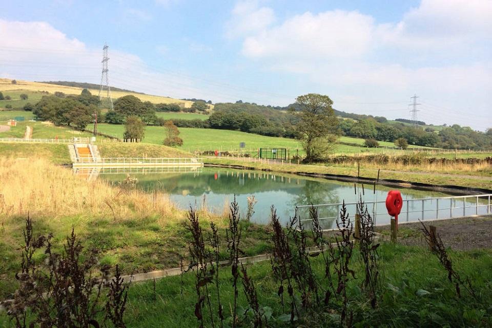 Sheephouse Wood mine water treatment scheme