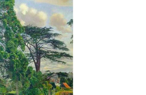Cookham from Englefield by Sir Stanley Spencer