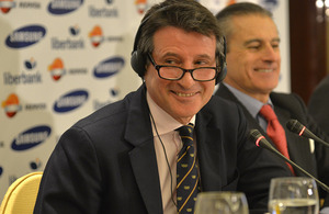 Lord Coe in Madrid