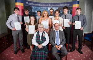 2015 Apprentice graduation