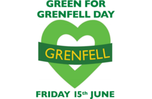 Green For Grenfell Day - Friday 15 June