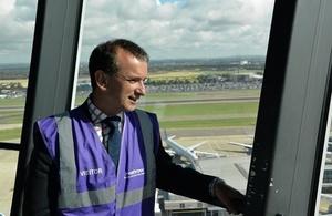 Heathrow control tower