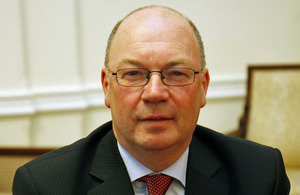Foreign Office Minister Alistair Burt