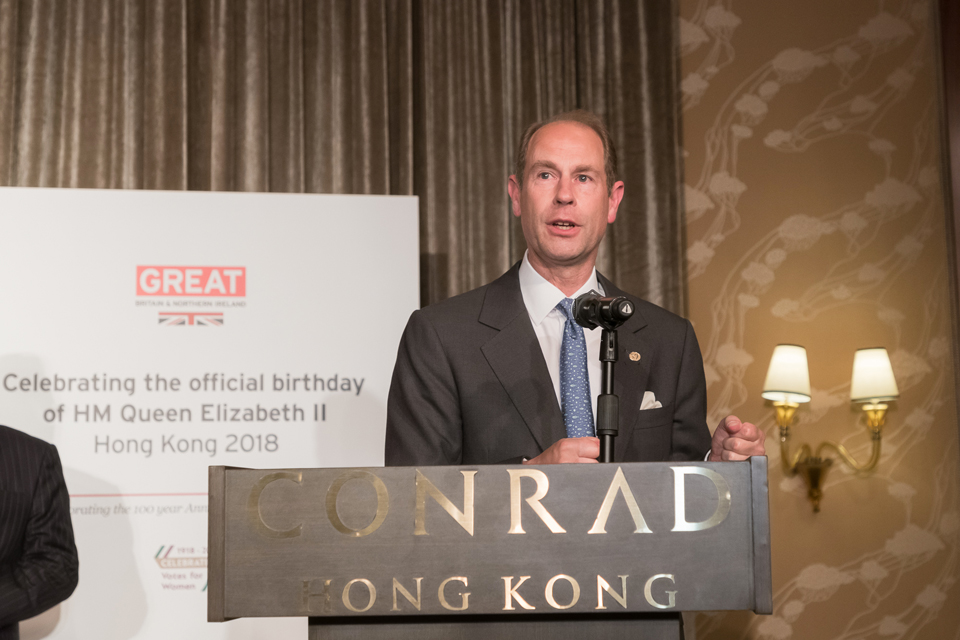 World news story: The Queen's 92nd Birthday Party in Hong Kong: Celebrating 100 years of women's suffrage