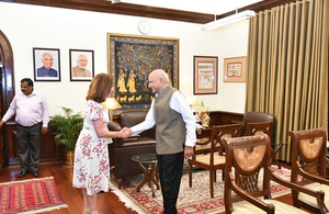 Baroness Williams meets M.J Akbar