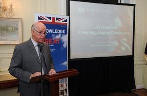 British Ambassador, John Freeman