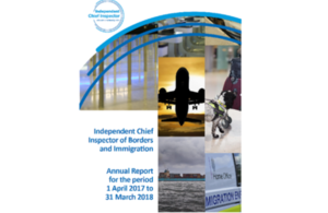 ICIBI Annual Report 2017-18 cover