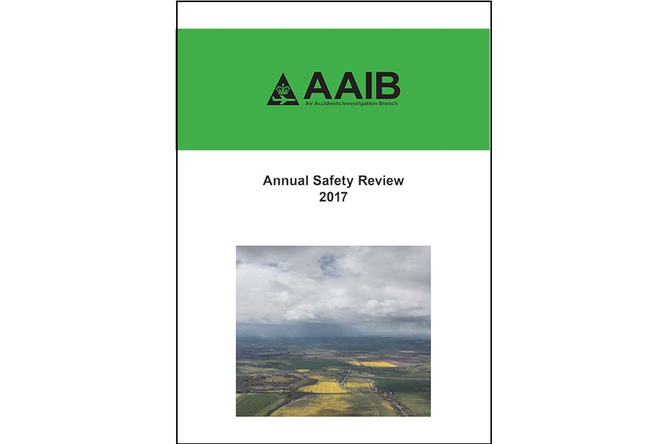 Front cover of Annual Safety Review 2017