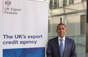 Chief Risk Officer at UK Export Finance, Samir Parkash