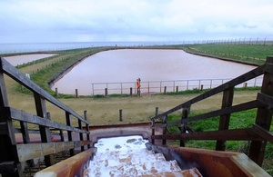 Horden mine water treatment scheme
