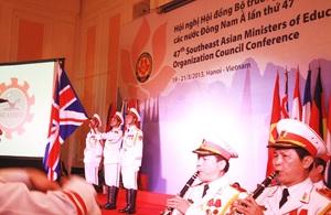 The UK has become an Associate Member of the SEAMEO