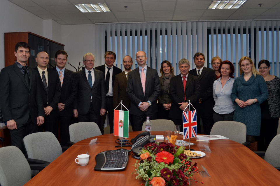 British Embassy visit at the Sauflon CL factory in Gyál