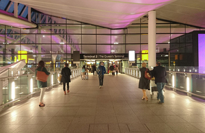 Heathrow Terminal 2.